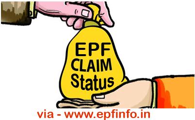Check PF Claim Status Chennai PF Office