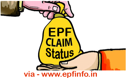 Check PF Claim Status Surat PF Office